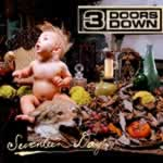 Partituras de musicas do álbum Seventeen Days de 3 Doors Down