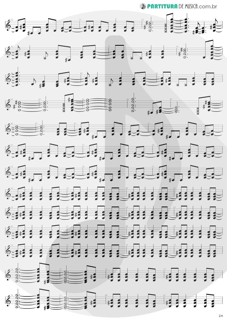 Partitura de musica de Guitarra Elétrica - It's A Long Way To The Top | AC/DC | High Voltage 1976 - pag 2