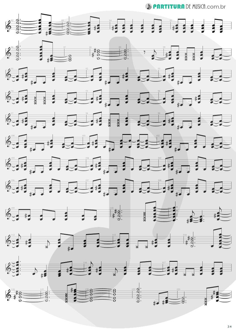 Partitura de musica de Guitarra Elétrica - It's A Long Way To The Top | AC/DC | High Voltage 1976 - pag 3