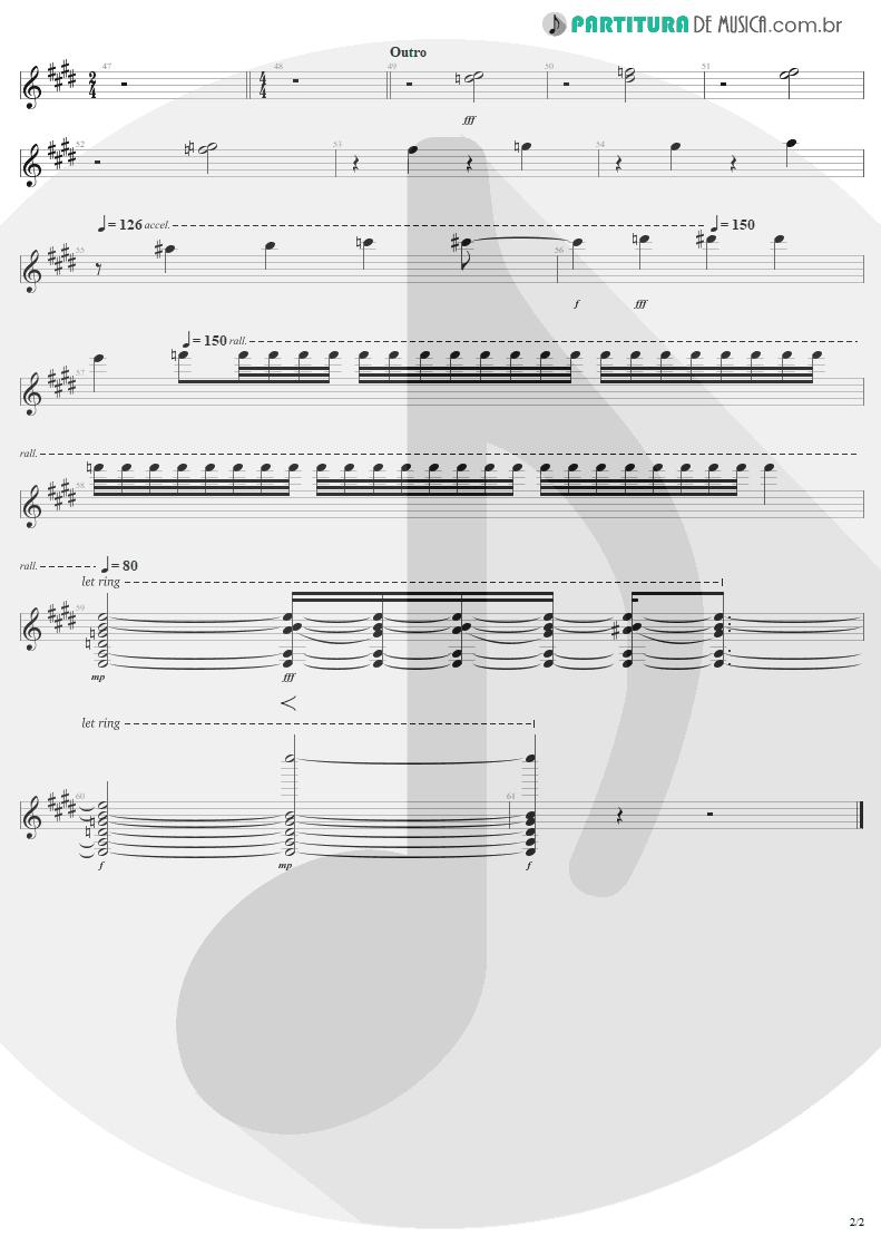 Partitura de musica de Guitarra Elétrica - T.N.T. | AC/DC | High Voltage 1976 - pag 2