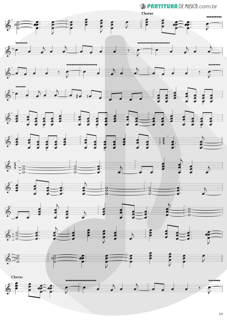 Partitura de musica de Guitarra Elétrica - Bad Boy Boogie   AC/DC   Let There Be Rock 1977 - pag 2
