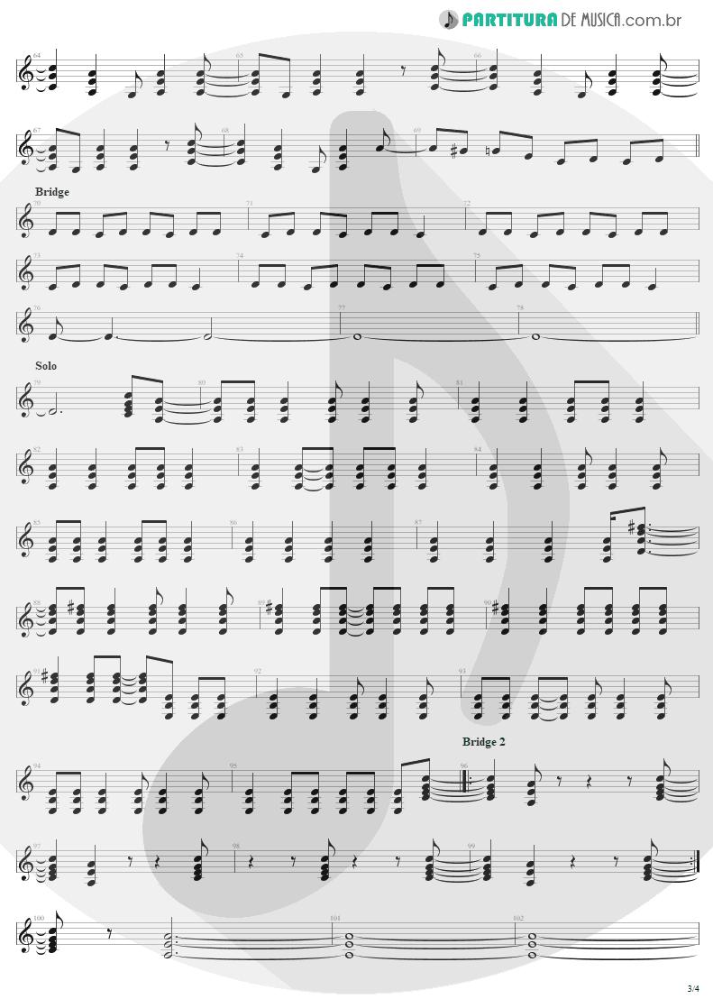 Partitura de musica de Guitarra Elétrica - Bad Boy Boogie | AC/DC | Let There Be Rock 1977 - pag 3