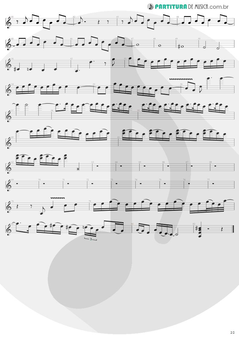 Partitura de musica de Guitarra Elétrica - Whole Lotta Rosie   AC/DC   Let There Be Rock 1977 - pag 2