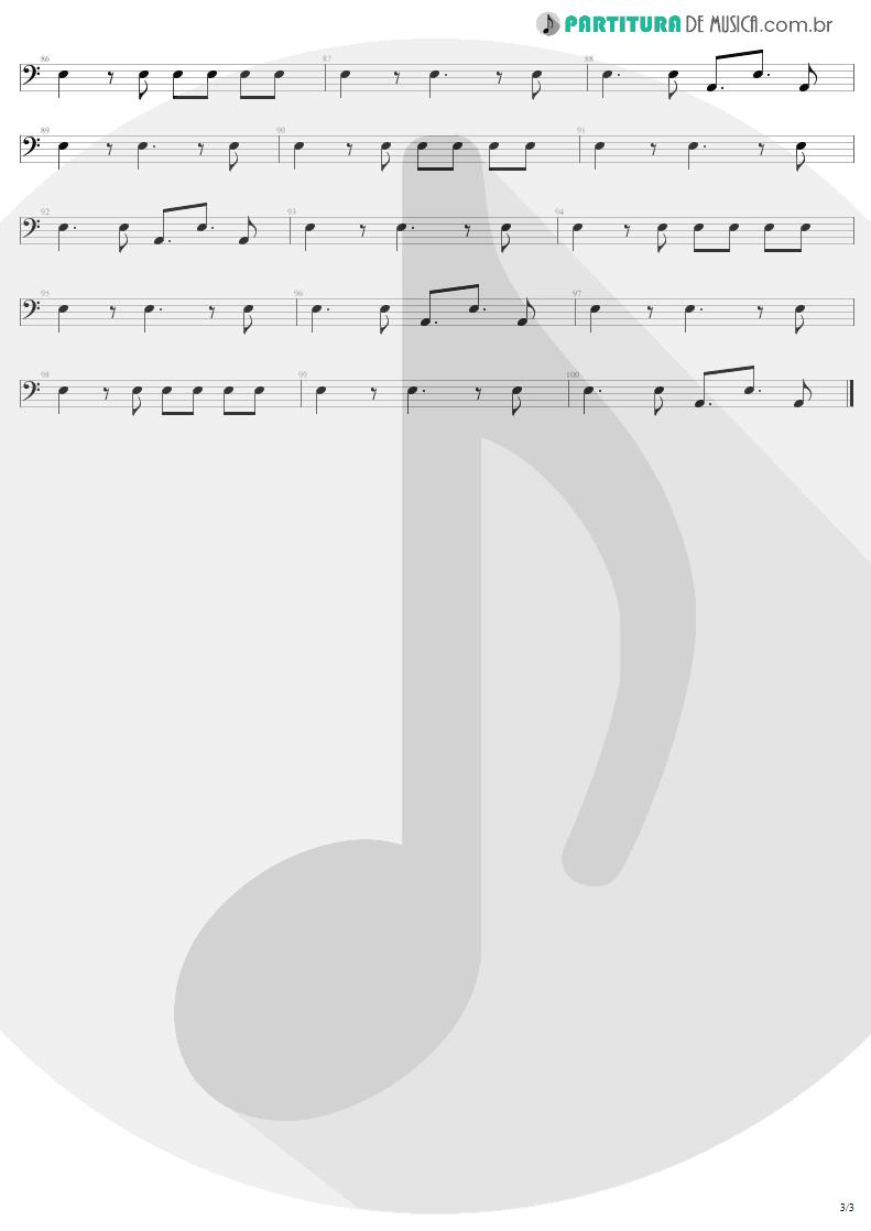 Partitura de musica de Baixo Elétrico - Back In Black   AC/DC   Back In Black 1980 - pag 3