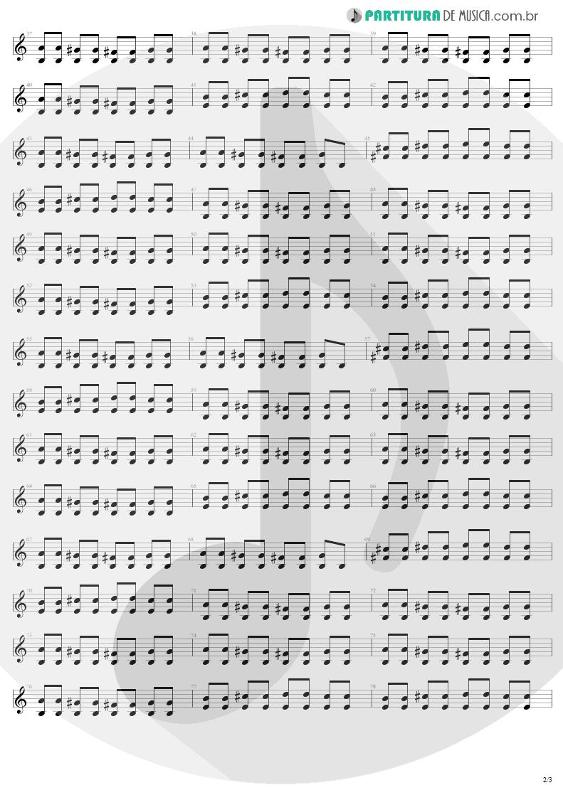 Partitura de musica de Guitarra Elétrica - Can't Stand Still   AC/DC   Stiff Upper Lip 2000 - pag 2