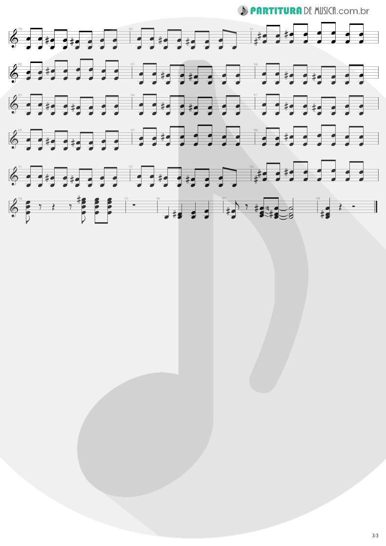 Partitura de musica de Guitarra Elétrica - Can't Stand Still   AC/DC   Stiff Upper Lip 2000 - pag 3