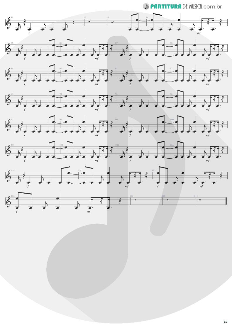 Partitura de musica de Guitarra Elétrica - Stiff Upper Lip | AC/DC | Stiff Upper Lip 2000 - pag 3