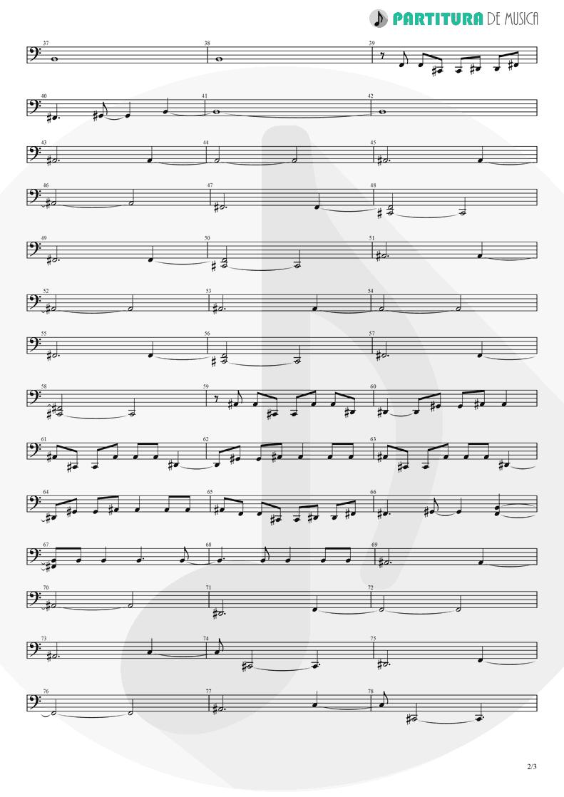 Partitura de musica de Baixo Elétrico - Brena | A Perfect Circle | Mer de Noms 2000 - pag 2
