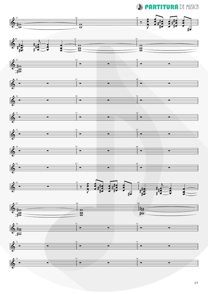 Partitura de musica de Guitarra Elétrica - Brena | A Perfect Circle | Mer de Noms 2000 - pag 2