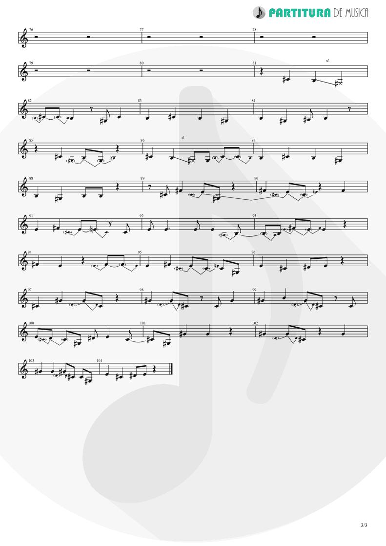 Partitura de musica de Canto - Magdalena | A Perfect Circle | Mer de Noms 2000 - pag 3