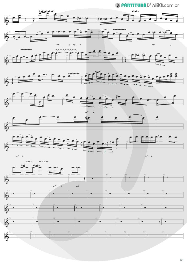 Partitura de musica de Guitarra Elétrica - Train Kept A Rollin' | Aerosmith | Get Your Wings 1974 - pag 2