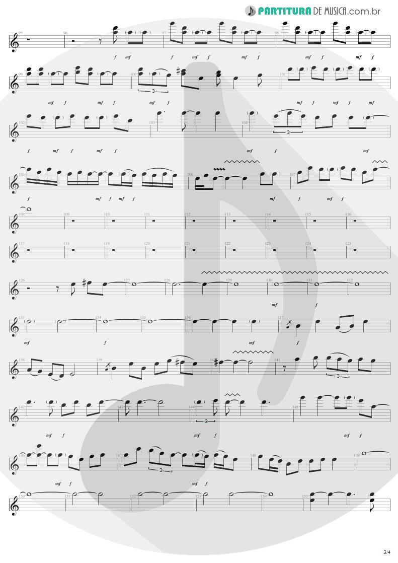 Partitura de musica de Guitarra Elétrica - Train Kept A Rollin' | Aerosmith | Get Your Wings 1974 - pag 3