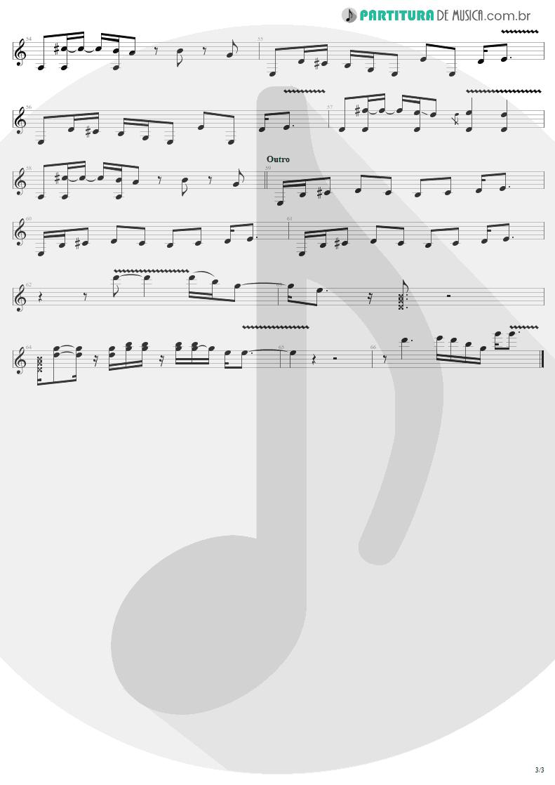 Partitura de musica de Guitarra Elétrica - Last Child | Aerosmith | Rocks 1976 - pag 3