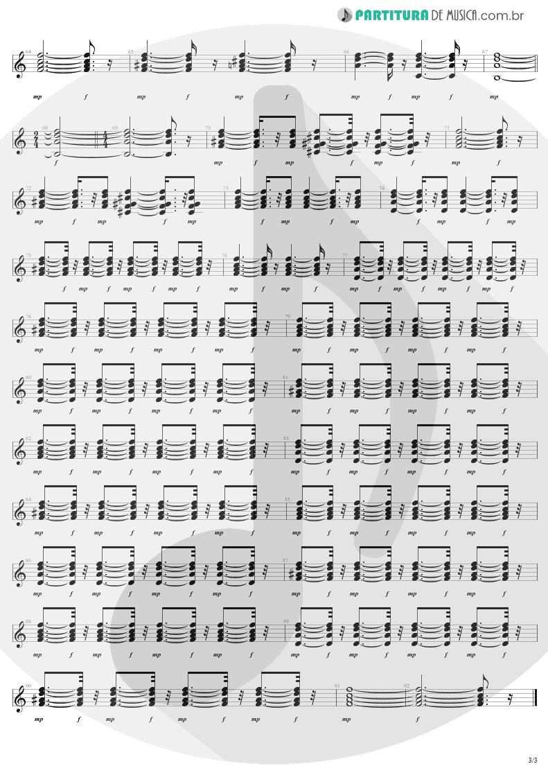 Partitura de musica de Guitarra Elétrica - What It Takes | Aerosmith | Pump 1989 - pag 3