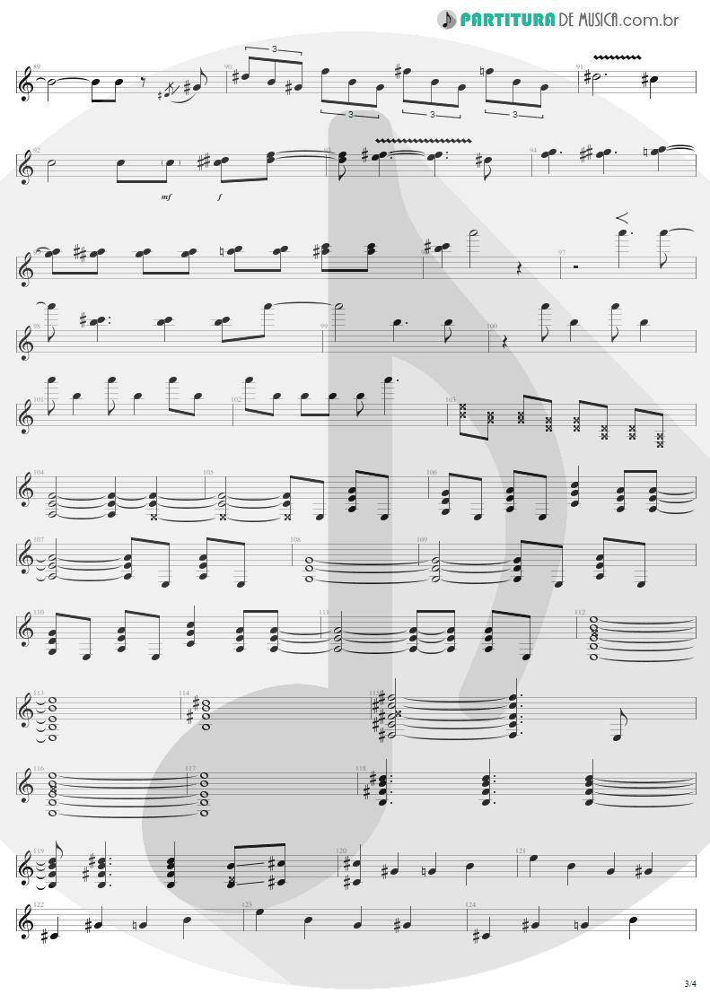 Partitura de musica de Guitarra Elétrica - Nine Lives | Aerosmith | Nine Lives 1997 - pag 3