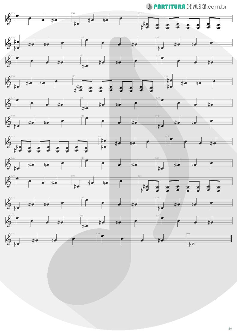 Partitura de musica de Guitarra Elétrica - Nine Lives | Aerosmith | Nine Lives 1997 - pag 4