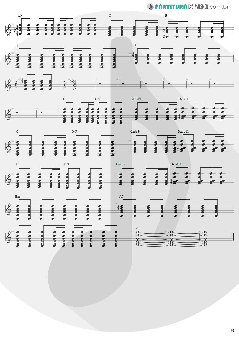 Partitura de musica de Guitarra Elétrica - Pink | Aerosmith | Nine Lives 1997 - pag 3