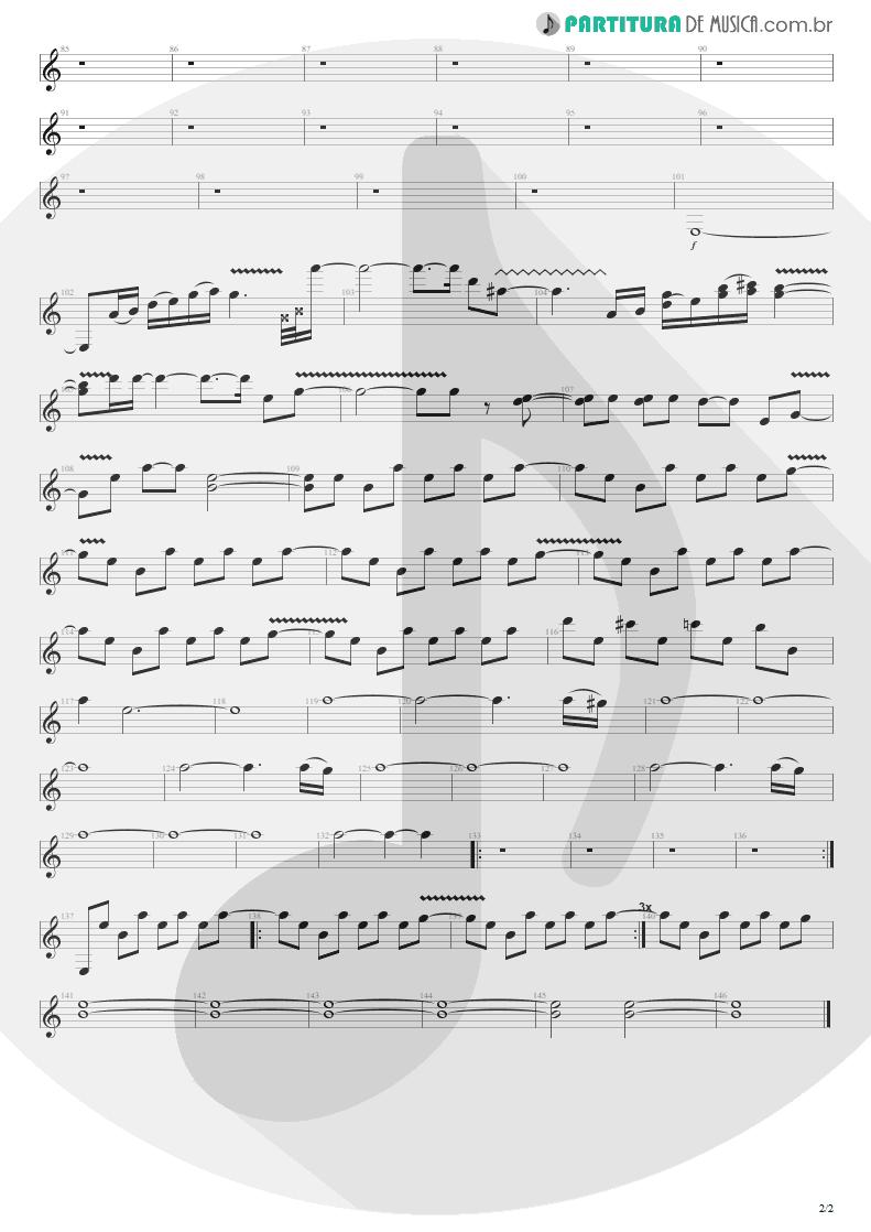 Partitura de musica de Guitarra Elétrica - Heaven Beside You | Alice in Chains | Alice in Chains 1995 - pag 2
