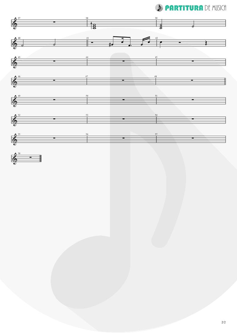 Partitura de musica de Piano - J'aurais Bien Voulu | Babylon Circus | Dances Of Resistance 2004 - pag 2
