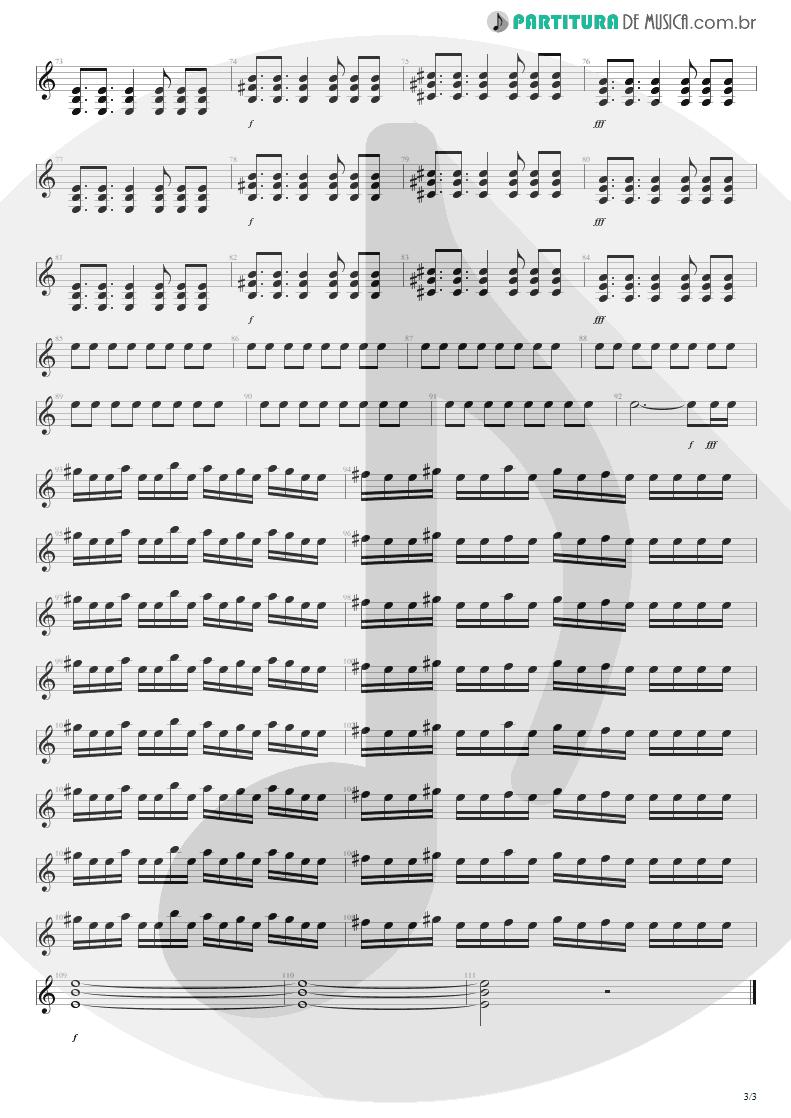 Partitura de musica de Guitarra Elétrica - M+M's | Blink-182 | Cheshire Cat 1994 - pag 3
