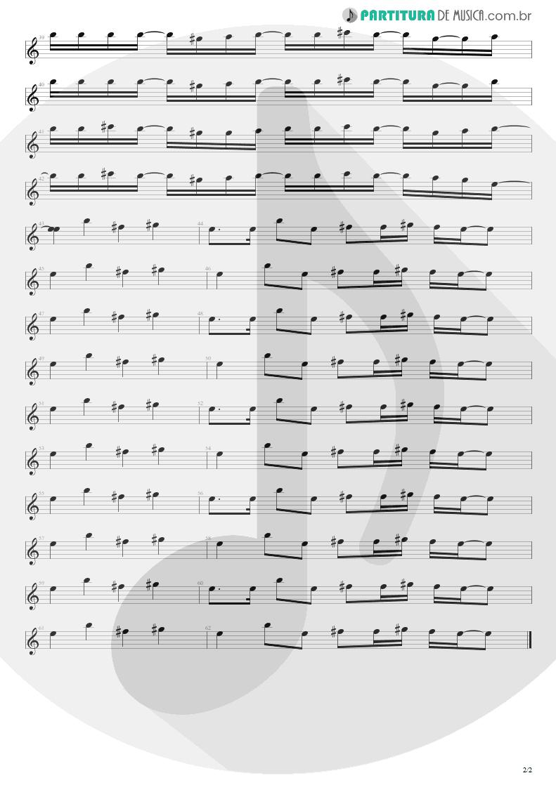 Partitura de musica de Canto - Feeling This   Blink-182   Blink-182 2003 - pag 2