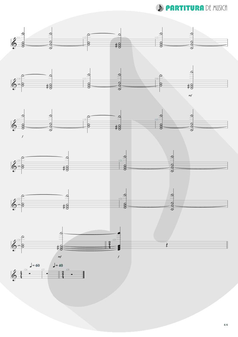 Partitura de musica de Teclado - Tears Of The Dragon   Bruce Dickinson   Balls to Picasso 1994 - pag 4