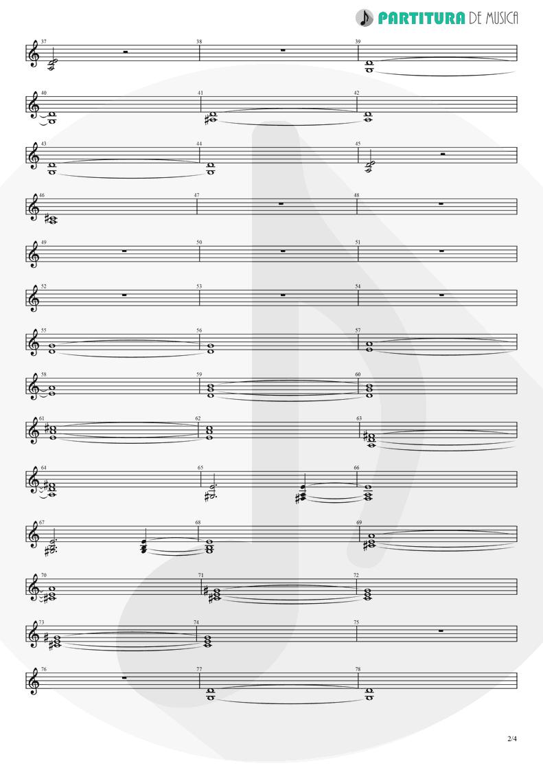 Partitura de musica de Violino - Pero Nunca Me Cai | Caifanes | El nervio del volcán 1994 - pag 2