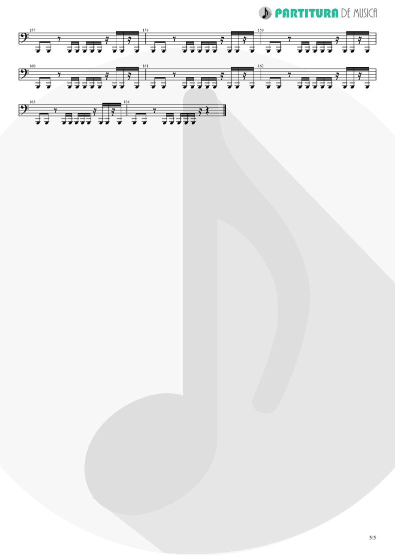 Partitura de musica de Baixo Elétrico - Another Day   Dagoba   Dagoba 2003 - pag 5