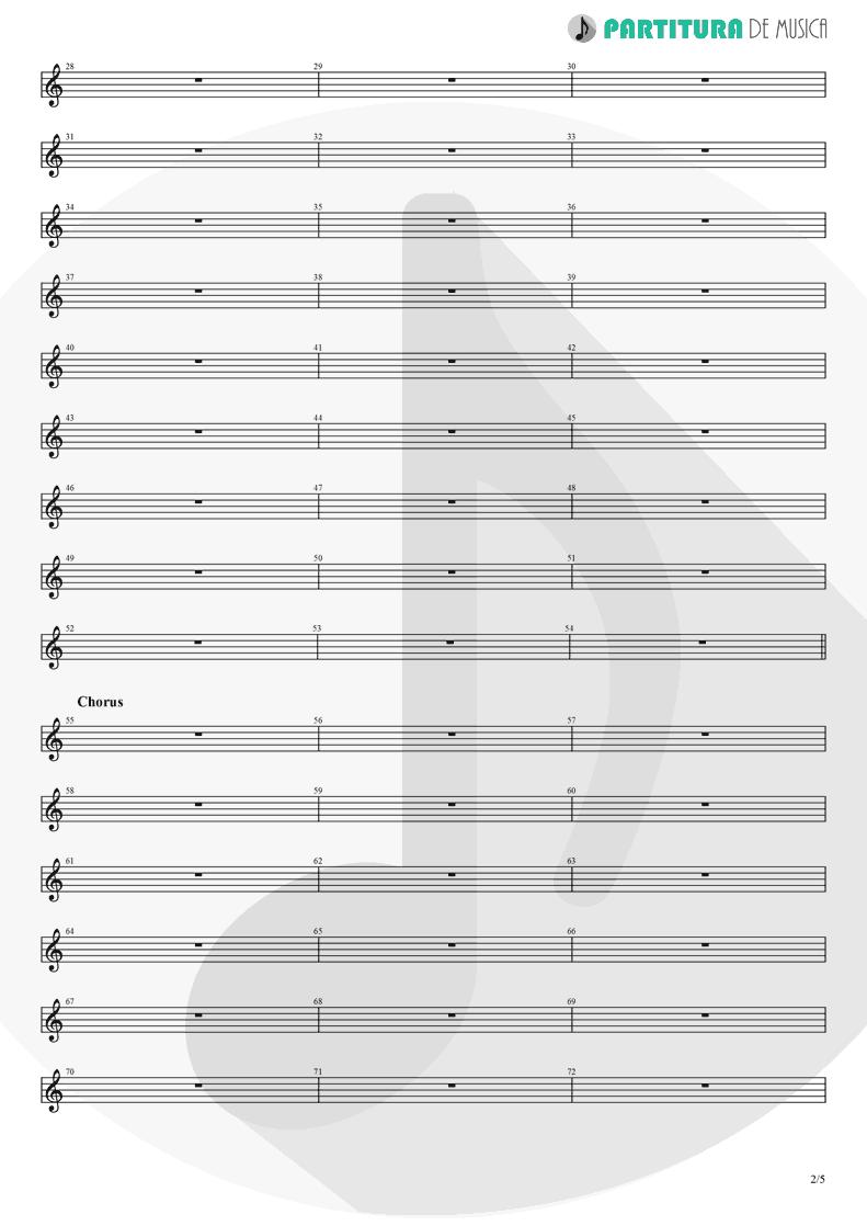 Partitura de musica de Piano - Another Day   Dagoba   Dagoba 2003 - pag 2