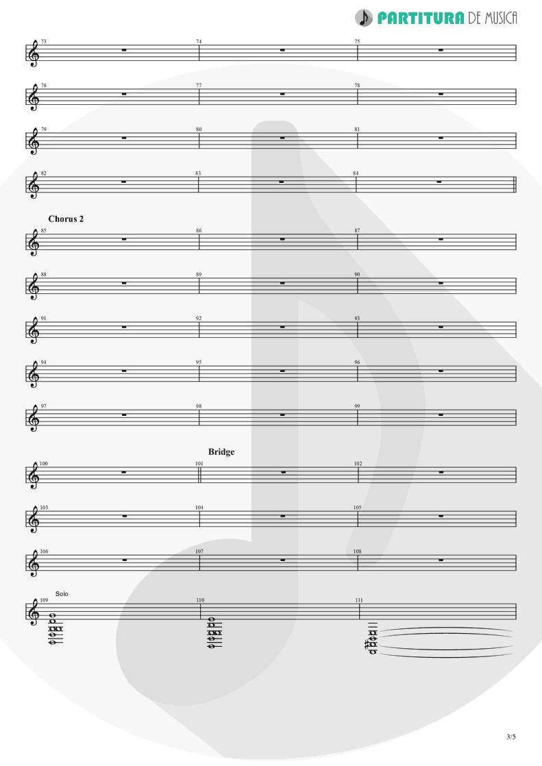 Partitura de musica de Piano - Another Day   Dagoba   Dagoba 2003 - pag 3