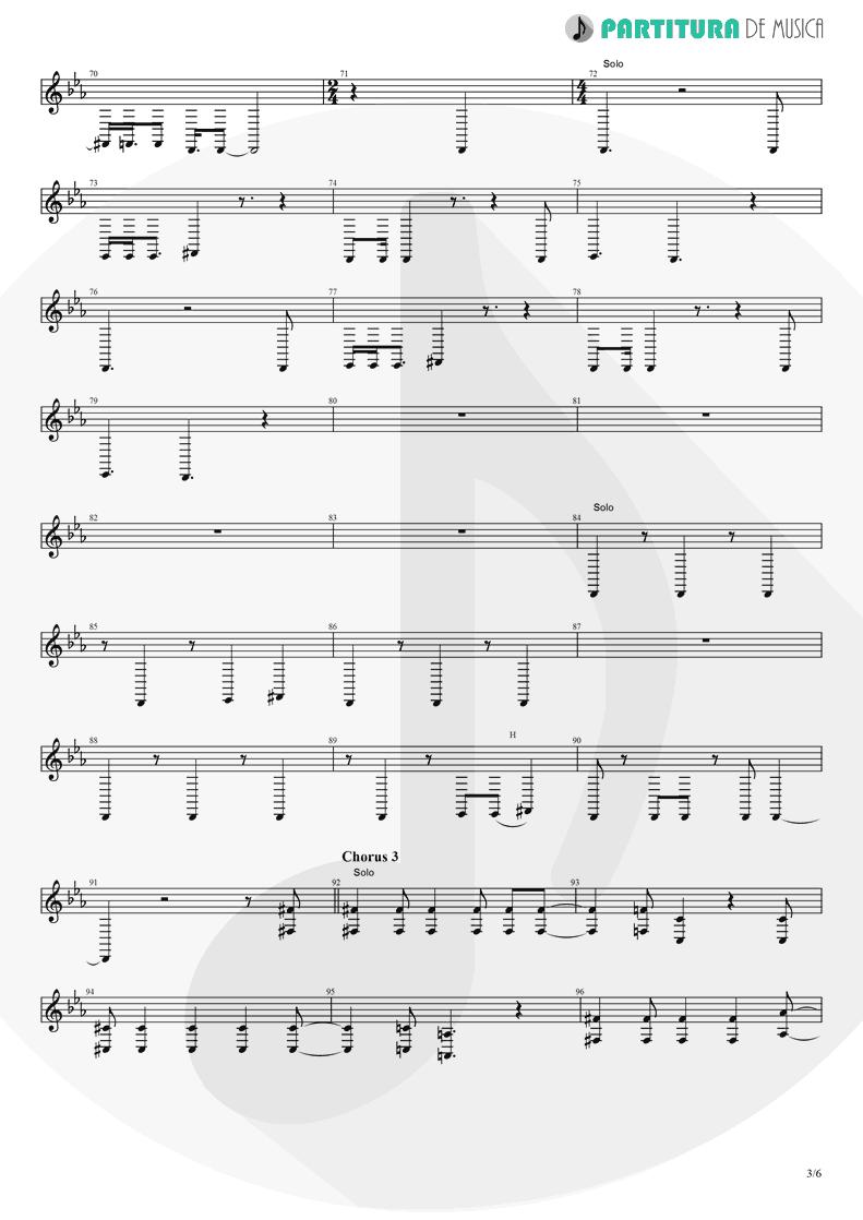 Partitura de musica de Trompete - Rush | Dagoba | Dagoba 2003 - pag 3