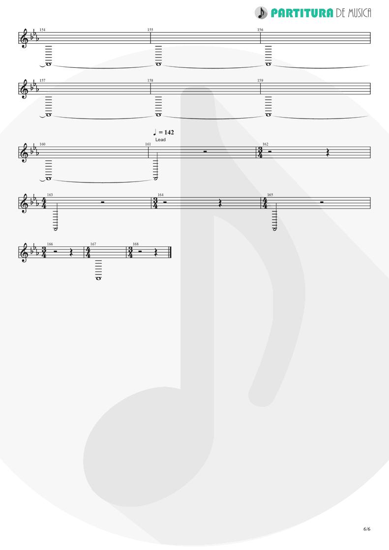 Partitura de musica de Trompete - Rush | Dagoba | Dagoba 2003 - pag 6