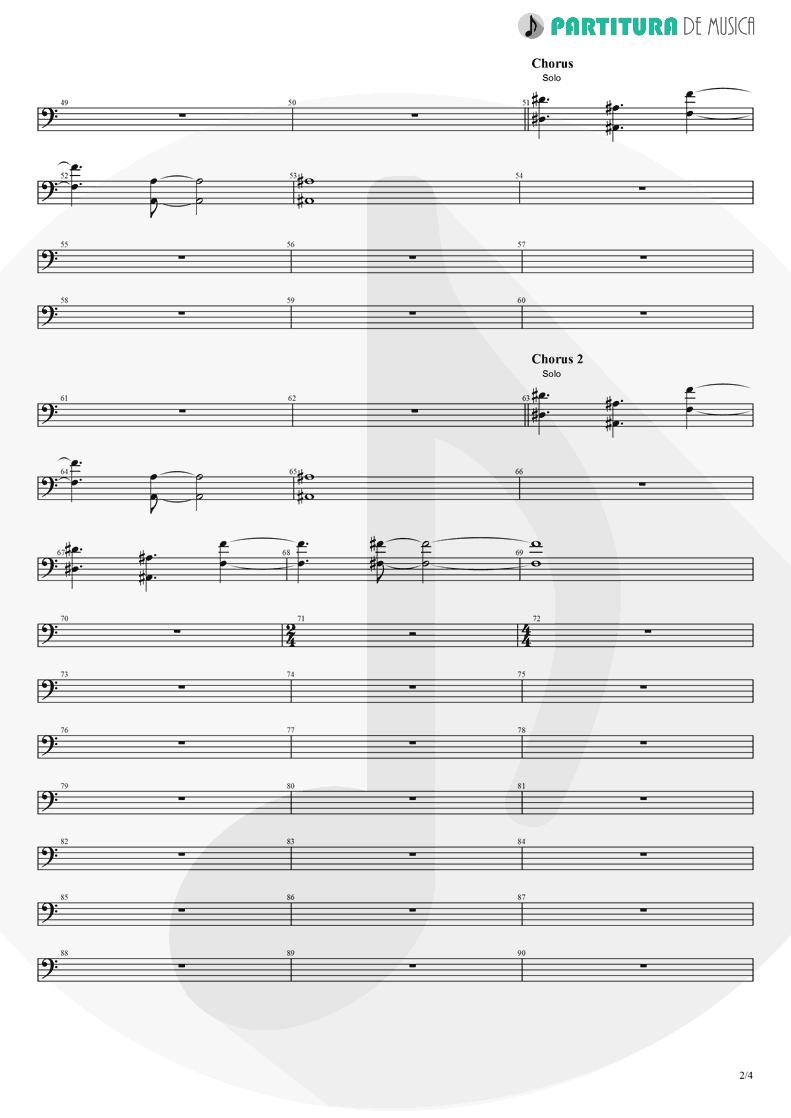 Partitura de musica de Violoncelo - Rush   Dagoba   Dagoba 2003 - pag 2