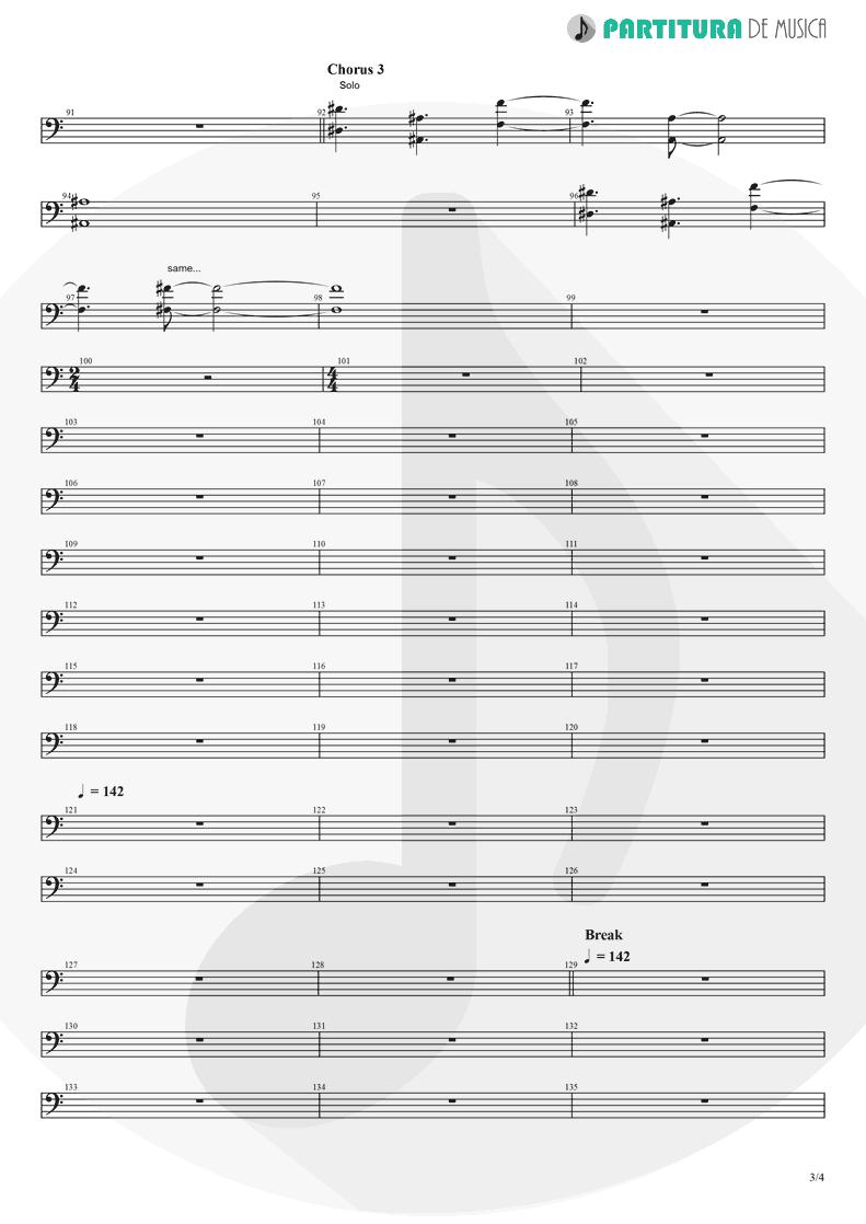 Partitura de musica de Violoncelo - Rush   Dagoba   Dagoba 2003 - pag 3
