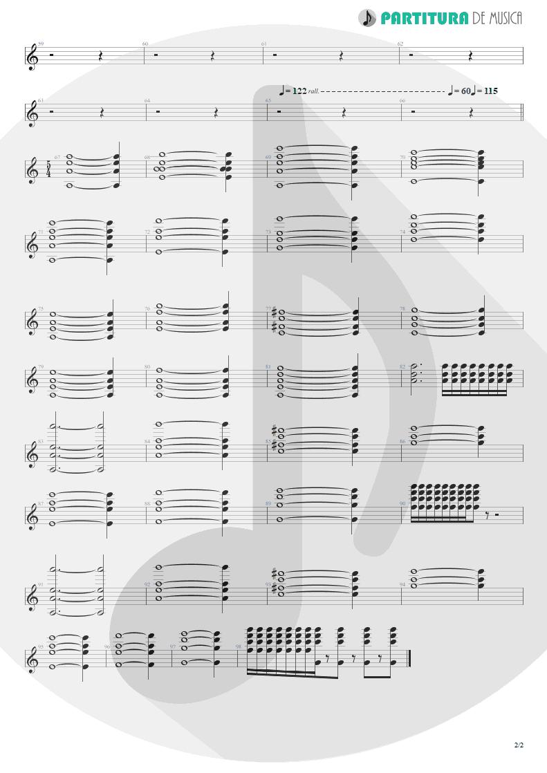 Partitura de musica de Teclado - ACOS: III - Carpe Diem | Dream Theater | A Change of Seasons 1995 - pag 2