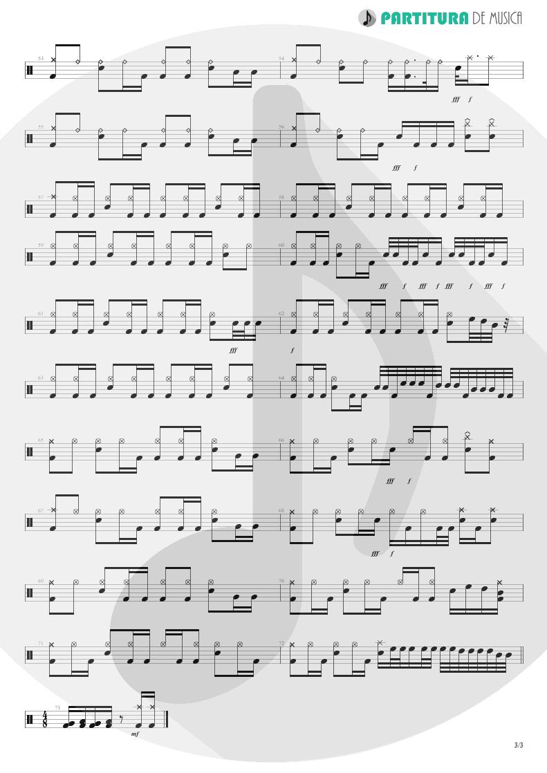 Partitura de musica de Bateria - ACOS: V - Another World | Dream Theater | A Change of Seasons 1995 - pag 3
