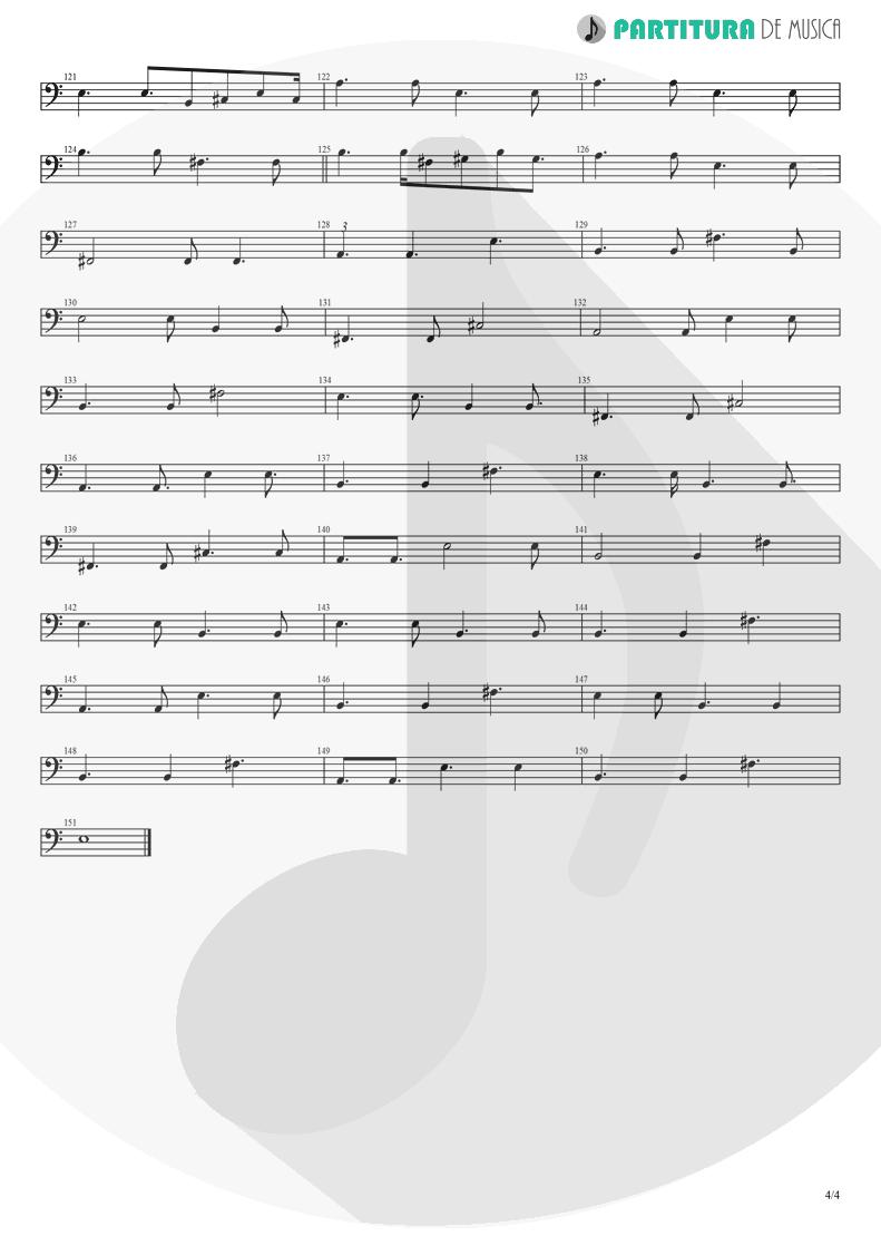 Partitura de musica de Baixo Elétrico - Peaceful Easy Feeling | Eagles | Eagles 1972 - pag 4