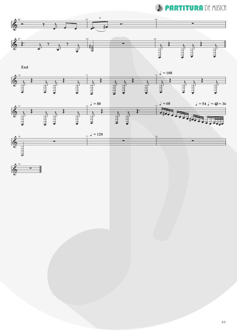Partitura de musica de Banjo - Tequila Sunrise | Eagles | Desperado 1973 - pag 3