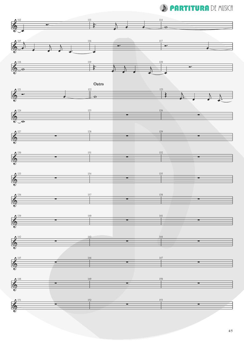 Partitura de musica de Canto - Already Gone | Eagles | On The Border 1974 - pag 4