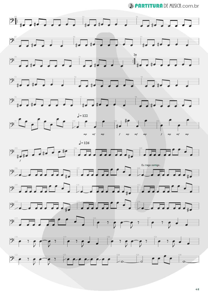 Partitura de musica de Baixo Elétrico - Anoiteceu Em Porto Alegre | Engenheiros do Hawaii | O Papa é Pop 1990 - pag 4