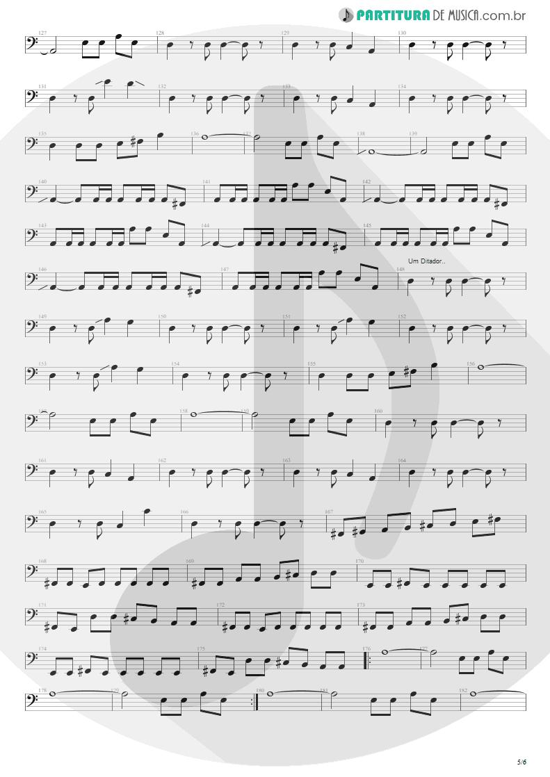 Partitura de musica de Baixo Elétrico - Anoiteceu Em Porto Alegre | Engenheiros do Hawaii | O Papa é Pop 1990 - pag 5