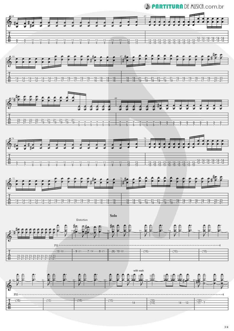 Tablatura + Partitura de musica de Violão - Anywhere   Evanescence   Origin 2000 - pag 3
