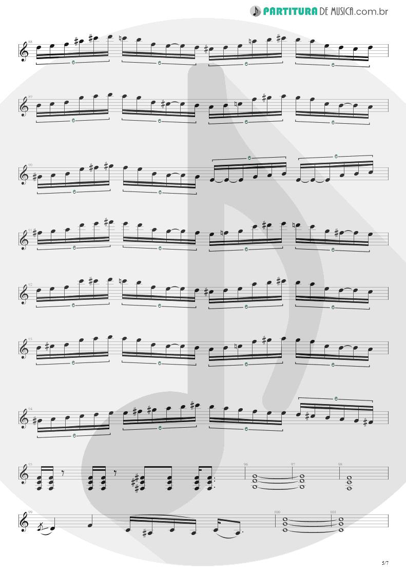 Partitura de musica de Guitarra Elétrica - It's A Monster   Extreme   Extreme II: Pornograffitti 1990 - pag 5
