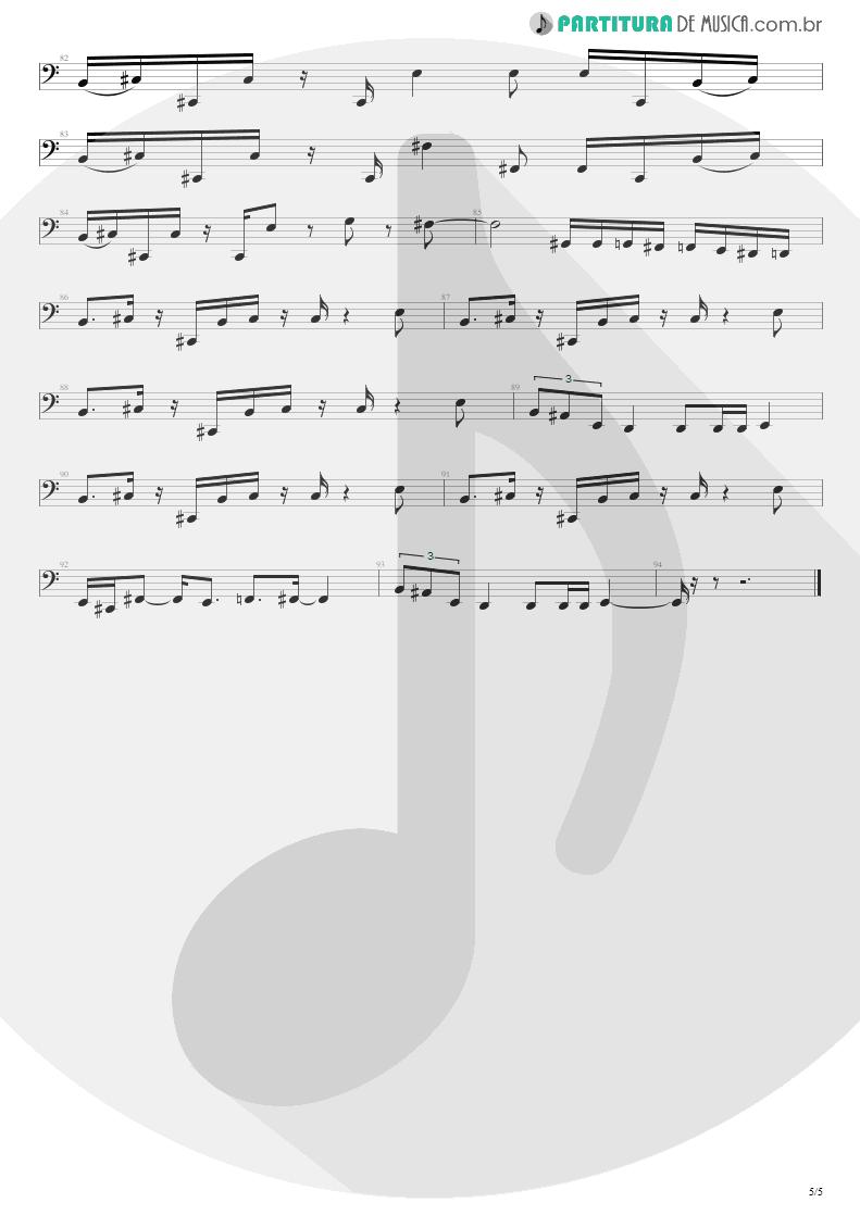 Partitura de musica de Baixo Elétrico - Cynical | Extreme | Waiting for the Punchline 1995 - pag 5