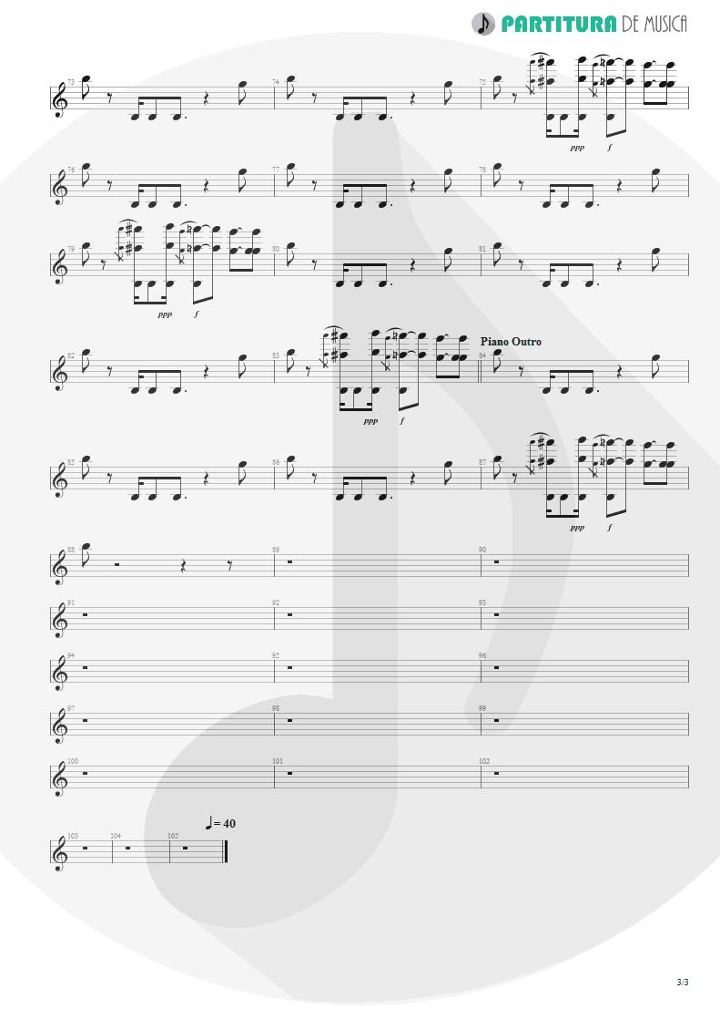 Partitura de musica de Canto - Epic | Faith No More | The Real Thing 1989 - pag 3