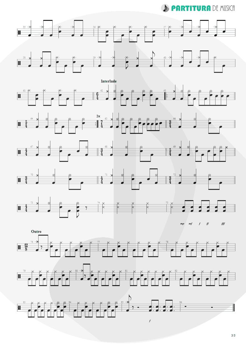 Partitura de musica de Canto - Surprise! Your Dead! | Faith No More | The Real Thing 1989 - pag 3