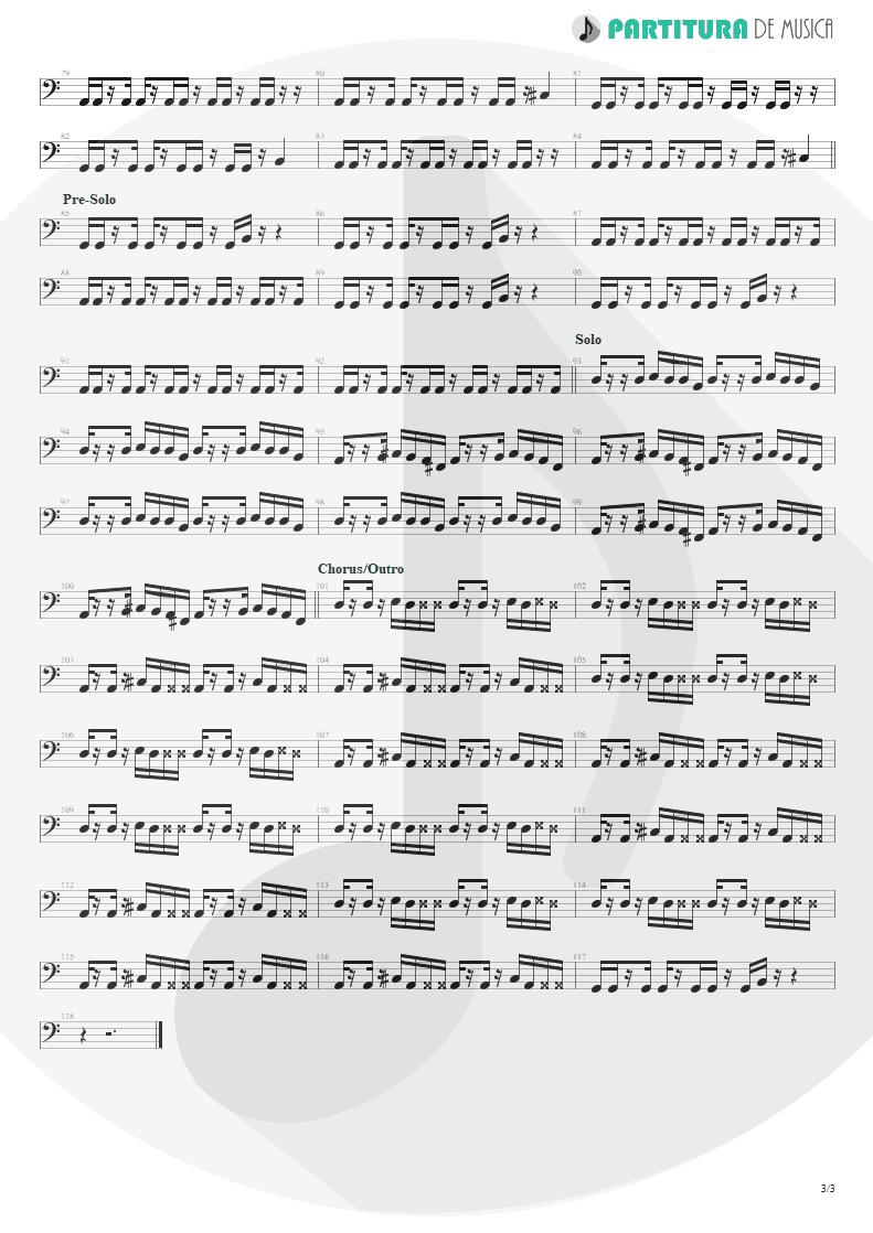 Partitura de musica de Baixo Elétrico - Everything's Ruined | Faith No More | Angel Dust 1992 - pag 3