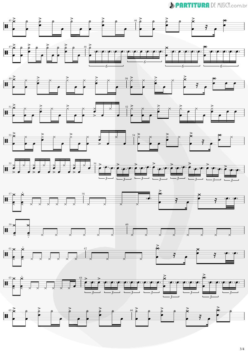 Partitura de musica de Bateria - Safari Song | Greta Van Fleet | Black Smoke Rising 2017 - pag 3