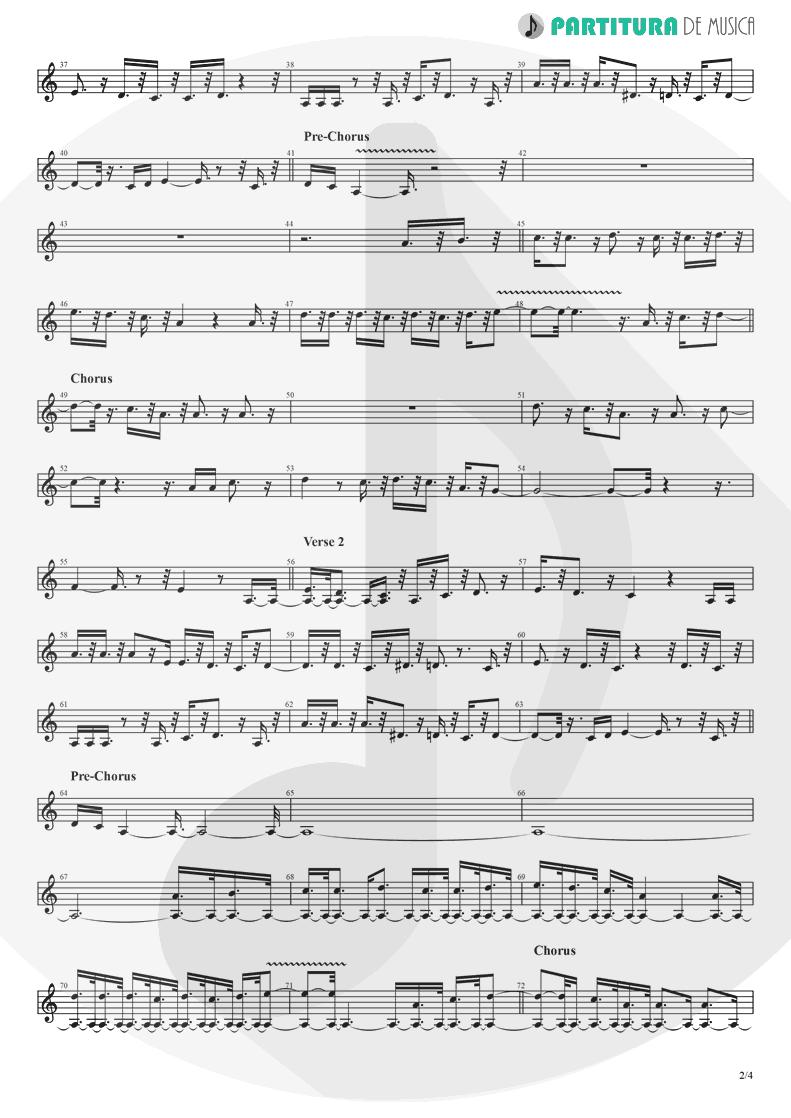 Partitura de musica de Flauta Transversal - Crazy On You | Heart | Dreamboat Annie 1976 - pag 2
