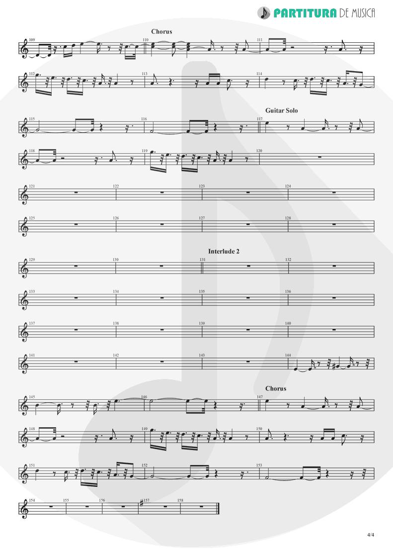 Partitura de musica de Flauta Transversal - Crazy On You | Heart | Dreamboat Annie 1976 - pag 4
